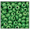 Seed Bead #2100 34 53250 Green Opaque (1/2 Kilo) (LOOSE) - CLEARANCE